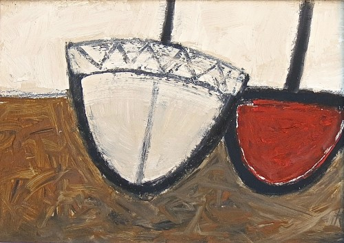 Malcolm Taylor, Two Boats (Hungerford Gallery)