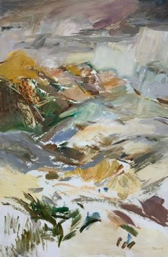 Margaret Devitt, Lesotho Foothills (London Gallery)