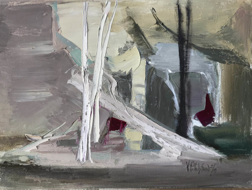 Val Pitchford, Fallen Tree (Hungerford Gallery)