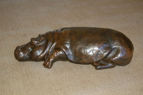 Rosalie Johnson, Small Reclining Hippo