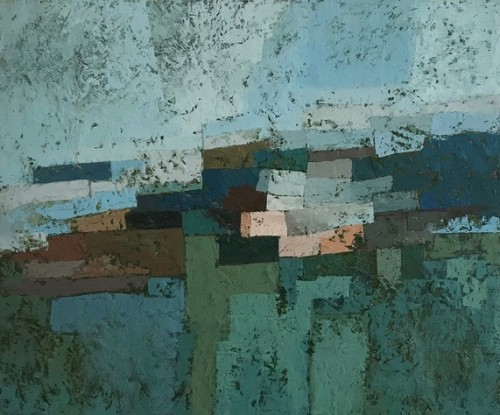 MIles Cole, Llanrhidian Winter (London Gallery)