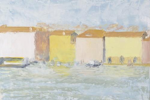 Celia Montague, February Light on San Basilio (Hungerford Gallery)