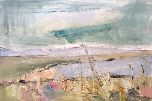 Jo Vollers, Aberfraw Beach (Hungerford Gallery)