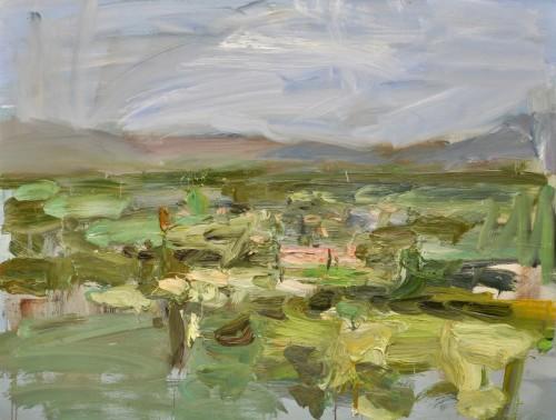 Richard Colson, Across the Plain - Pollenca, Mallorca (London Gallery)
