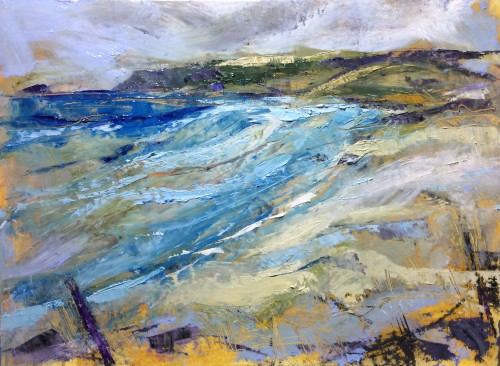 Emma Haggas, Wild Day on Constantine (Hungerford Gallery)