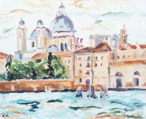 Fi Katzler, Salute from the Giudecca (London Gallery)