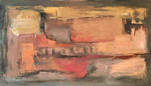 Val Pitchford, Rose Dawn II (Hungerford Gallery)