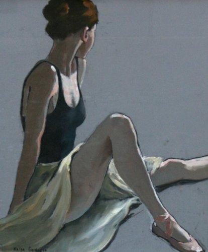 Katya Gridneva, Reharsal Break (Hungerford Gallery)