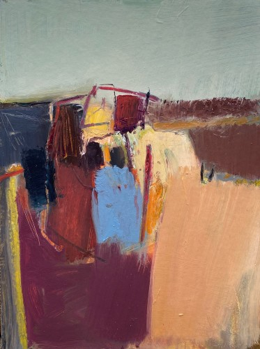 Dafila Scott, At the Edge of the Field (Hungerford Gallery)