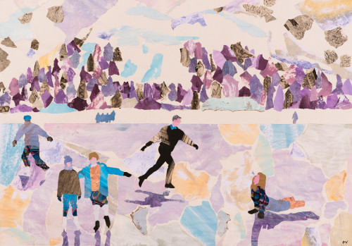 Dione Verulam, Skating en Plein Air (London Gallery)
