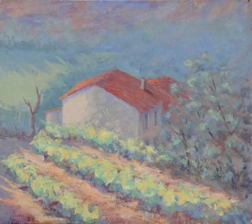 Hermione Owen, Spring Vines (Hungerford Gallery)