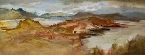Margaret Devitt, Glenborrodale and Loch Sunart (Hungerford Gallery)