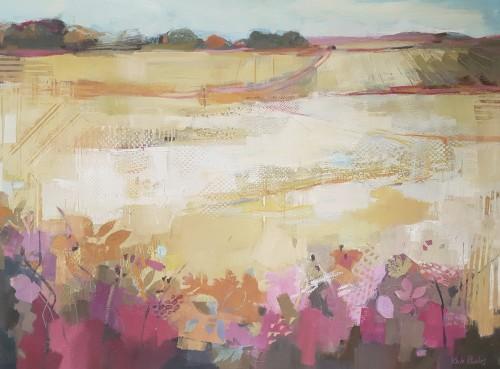 Kate Rhodes, Hedgerows and Harvest Lines (London Gallery)