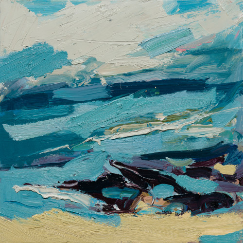 Paul Wadsworth, Gwithian Beach St Ives In Sun (London Gallery)