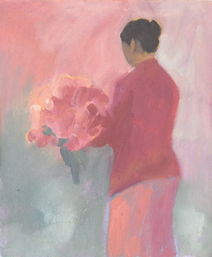 Clare Granger, Flowers (Hungerford Gallery)