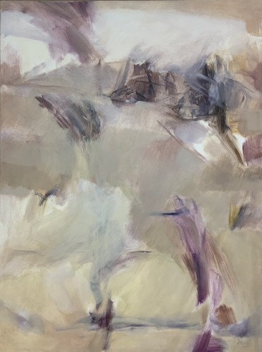 Margaret Devitt, Abstract in Grey (Hungerford Gallery)