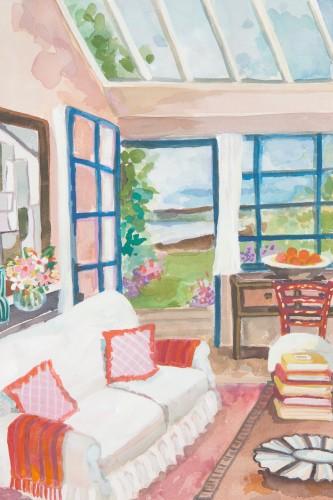 Lottie Cole, Irish Summerhouse Interior (London Gallery)