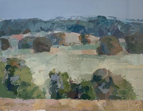 Minnie Shaw Stewart, View from Brightwalton II (London Gallery)