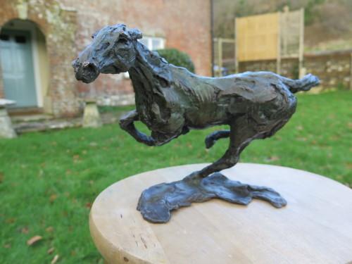 Jane Shaw, Changing Direction - Galloping Horse