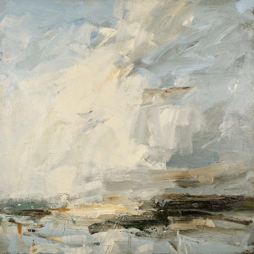 Louise Balaam, White Cloud Leap, Norfolk Coast (London Gallery)