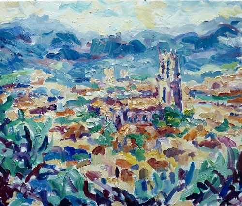 Fi Katzler, St Saveur, Aix en Provence (Hungerford Gallery)