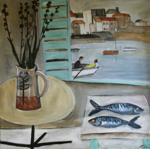 Kim Langford, Romance in St Ives (London Gallery)