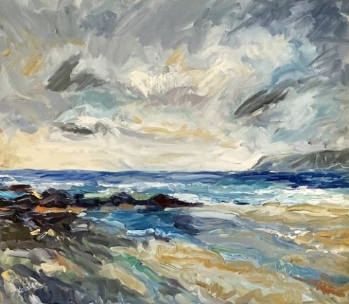 Fi Katzler, Storm Passing (Hungerford Gallery)