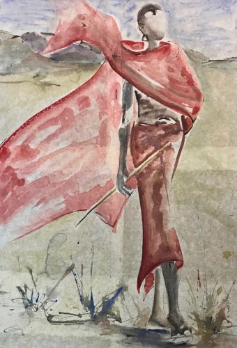 Christine Seifert, Maasai Wind (Hungerford Gallery)