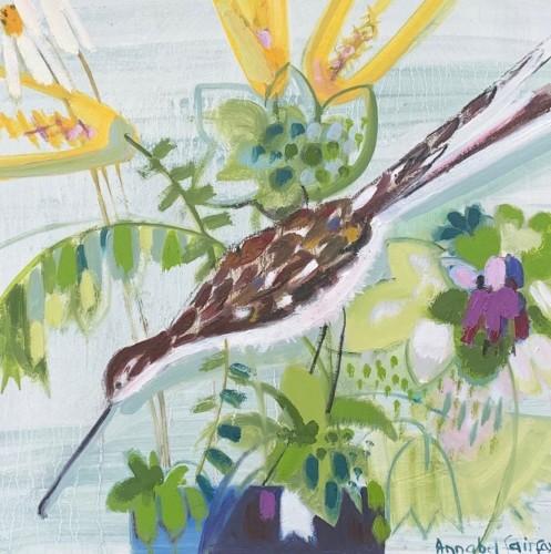 Annabel Fairfax, Summer Sky and Bird (Hungerford Gallery)