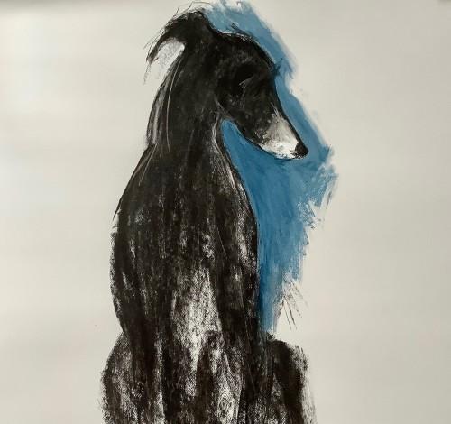 Sally Muir, George (Hungerford Gallery)