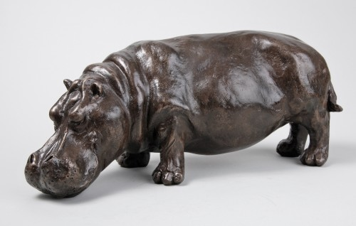 Rosalie Johnson, Grazing Hippo