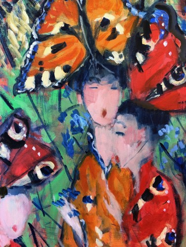 Lucy Dickens, Madame Butterfly I (Hungerford Gallery)