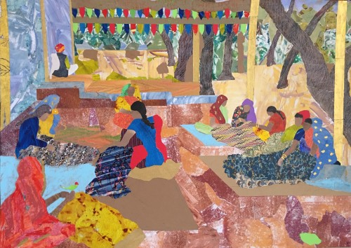Dione Verulam, Quiltmaking (Hungerford Gallery)