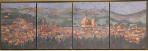 Hermione Owen, View of Florence (Hungerford Gallery)