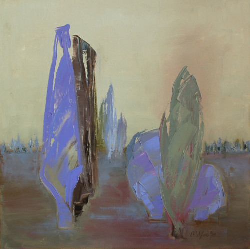Val Pitchford, Tall Ones (Hungerford Gallery)