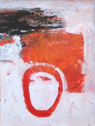 Malcolm Taylor, Red Runner (London Gallery)