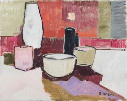 Bridget Lansley, Sorting Out (Hungerford Gallery)