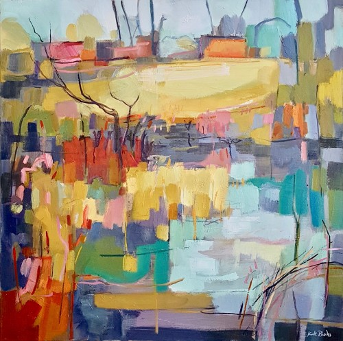 Kate Rhodes, Towards the Farm (Hungerford Gallery)
