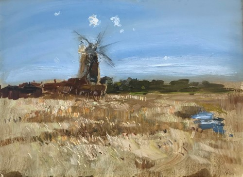 Richard Colson, Cley Mill (Hungerford Gallery)