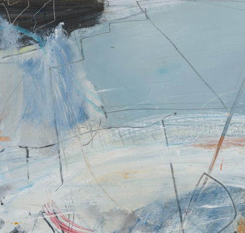 David Mankin, Salt Sea Wind (Hungerford Gallery)