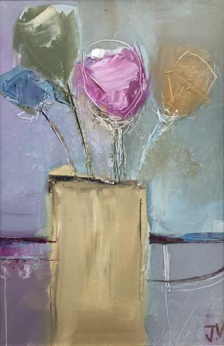Jo Vollers, Yellow Vase (London Gallery)