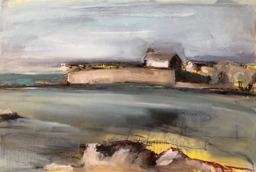Jo Vollers, St Cwyfan's Island Church (London Gallery)