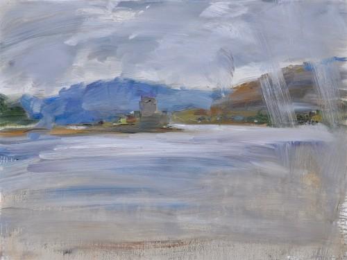 Richard Colson, Eilean Donan Castle III (Hungerford Gallery)