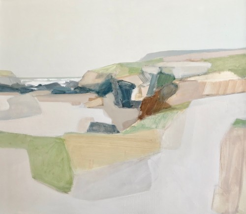 Myles Oxenford, Towards Trevose Headland (London Gallery)