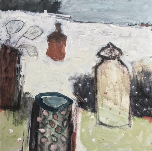 Malcolm Taylor, Spots and Pots (London Gallery)