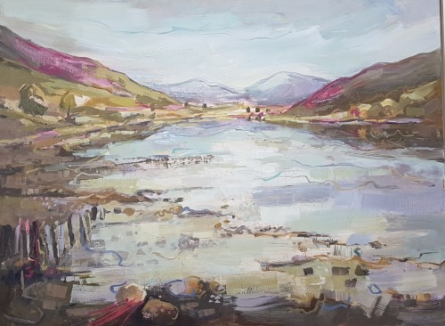 Kate Rhodes, Highland Reflections (Hungerford Gallery)