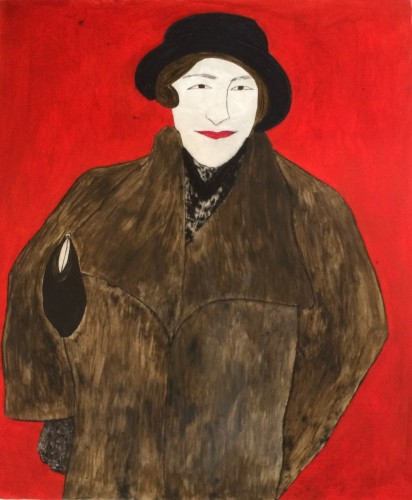 Kate Boxer, Agatha Christie (Unframed)