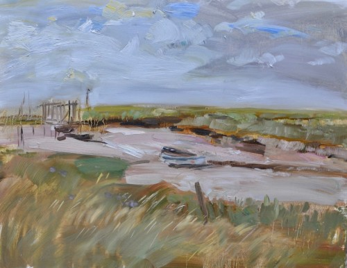 Richard Colson, Beached Morston I (Hungerford Gallery)