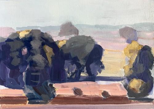 Minnie Shaw Stewart, Evening Light II (London Gallery)