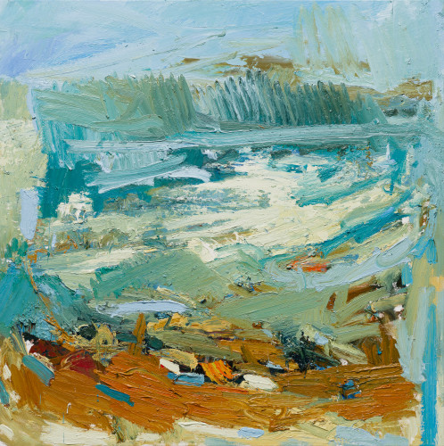 Paul Wadsworth, Big Surf Green Sea (London Gallery)